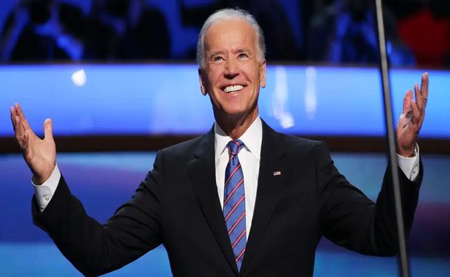Joe Biden formally clinches Democratic presidential nomination - Sakshi