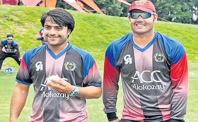 Afghanistan Cricket Players Started practice After Two Months - Sakshi