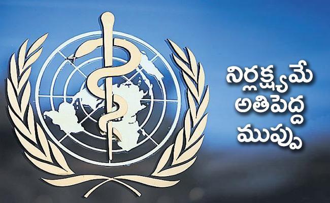 WHO chief warning : Coronavirus situation is worsening globally - Sakshi