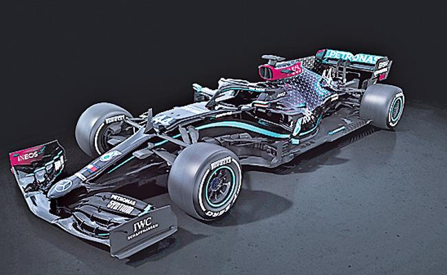 Mercedes Team Decided To Run Black Colour Cars In F1 Race - Sakshi