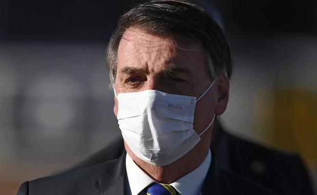 Unnecessary Order for Brazil Bolsonaro to Wear a Mask Dismissed - Sakshi