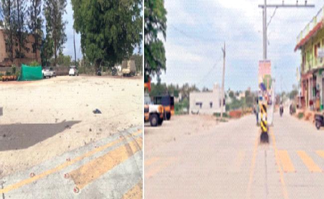 TDP Leader Occupied Land Of Police Quarters In Kuppam - Sakshi