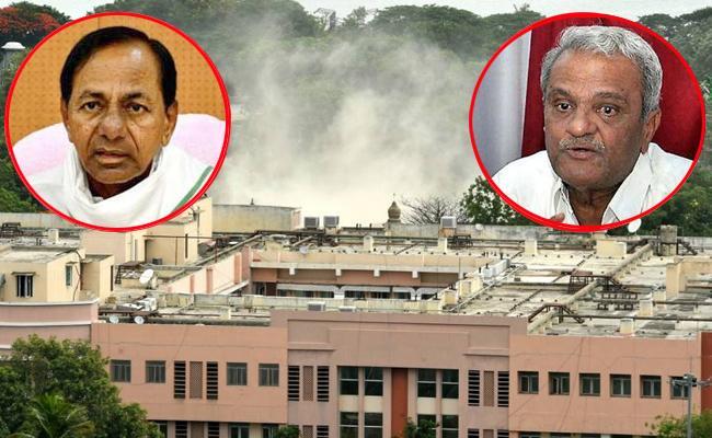 CPI Narayana Slams KCR Over Telananga Secretariat Demolition - Sakshi