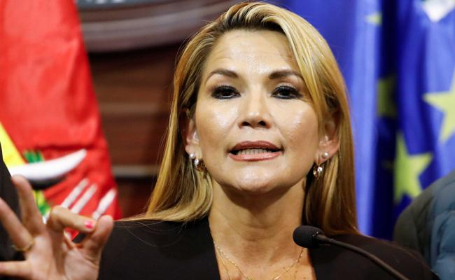 Bolivia President Jeanine Anez Tests Coronavirus Positive - Sakshi