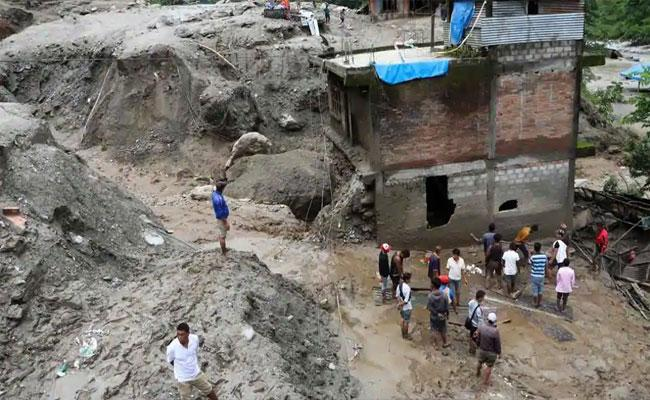 Several People Missing And Lives Lost In Nepal Due To Landslides - Sakshi