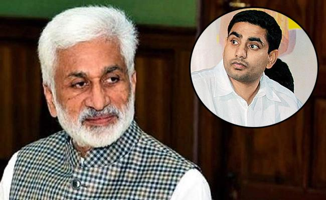 Vijay Sai Reddy Satirical Comments On Nara Lokesh - Sakshi
