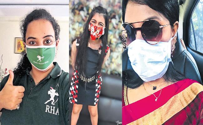Mask Challange Viral in Social Media Hyderabad - Sakshi