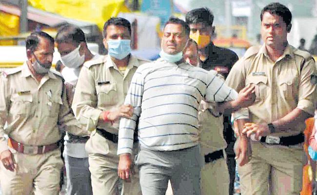 Gangster Vikas Dubey arrested in Ujjain - Sakshi