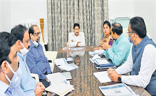 CM YS Jagan comments in a review on ROFR Patta - Sakshi