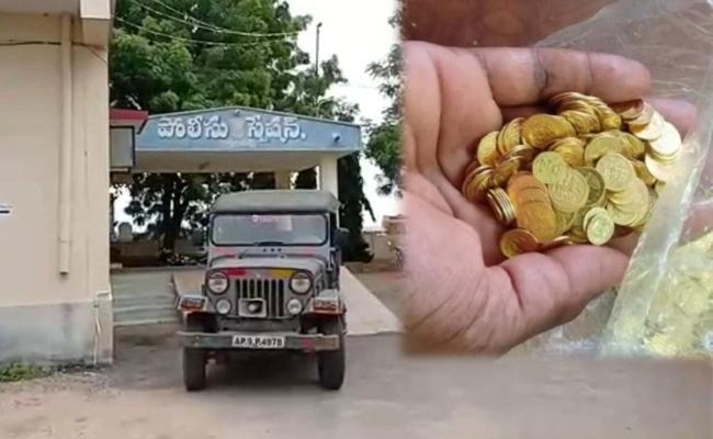 Karnataka Gang Cheated Kadapa Native Rs 25 Lakhs With Fake Gold - Sakshi