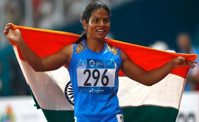 Lockdown: Dutee Chand Has Put Her BMW Up For Sale On Social Media - Sakshi