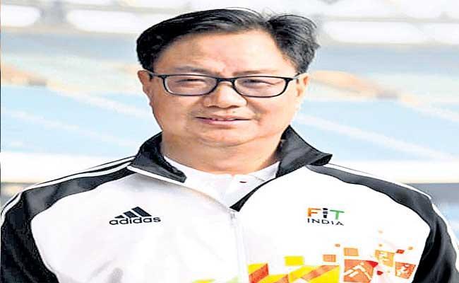 There Is No Proper Sports Culture In India Says kiren Rijiju - Sakshi