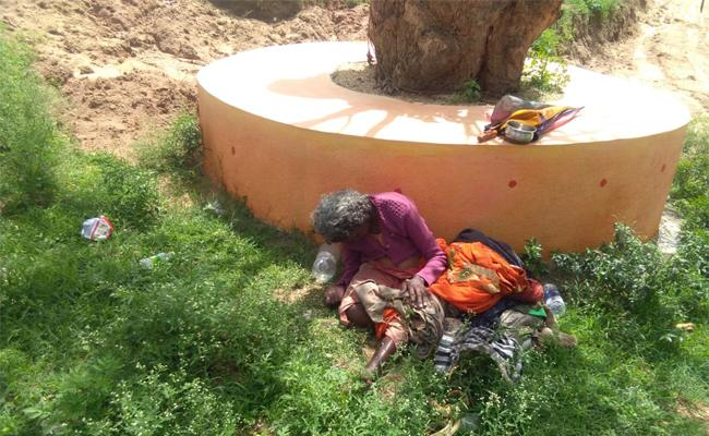 Mother Was Left In Forest By Her Sons In Chittoor - Sakshi