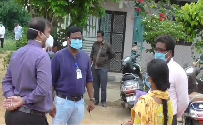 No Humanity About Corona Patient In Nizamabad - Sakshi