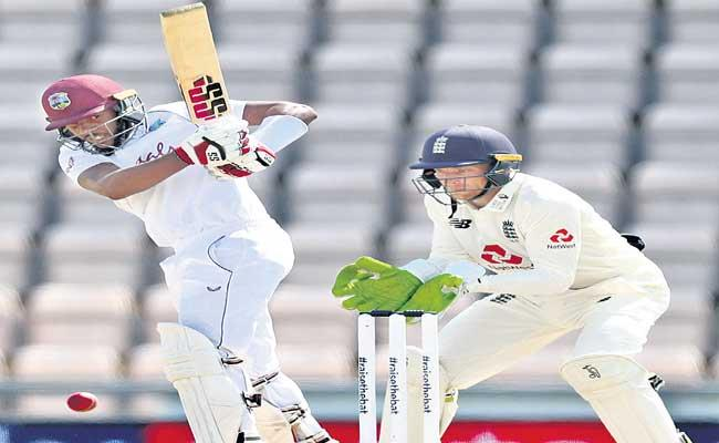 West Indies Won The First Test Match Against England - Sakshi