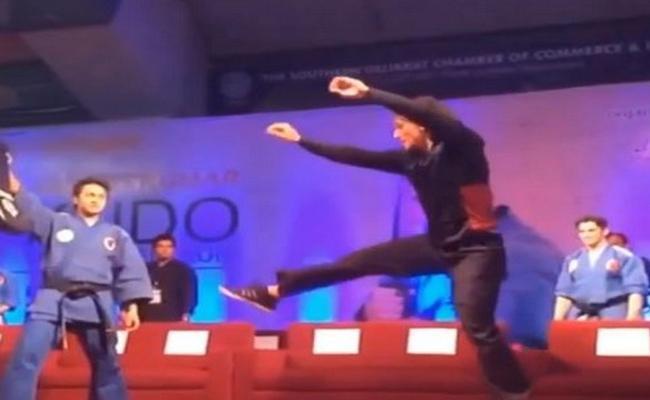 Tiger Shroff Shares Taekwondo Video - Sakshi
