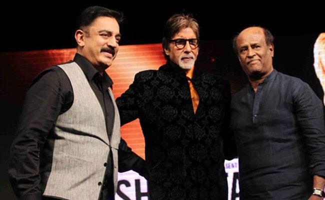 Rajinikanth And Kamal Haasan Phoned To Amitabh Bachchan - Sakshi