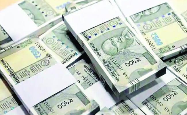 Rupee slips 23 paise as strong US dollar - Sakshi
