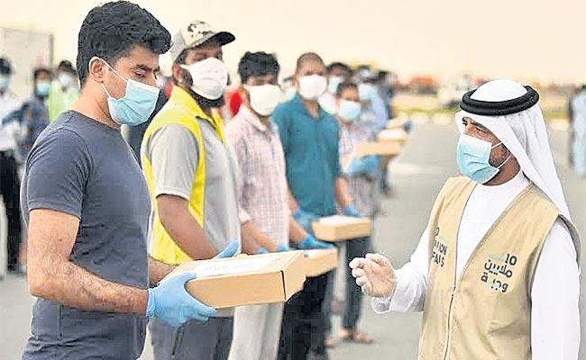 Siddipet District Gulf Labour Problems Faced With Coronavirus - Sakshi