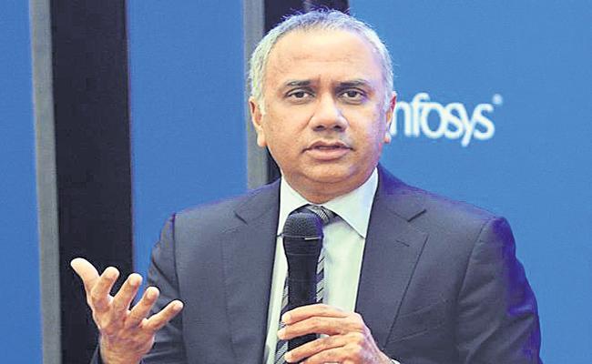 Infosys Profit rises 12 percent to Rs 4,233 crore - Sakshi
