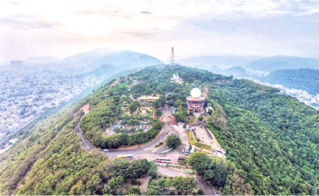 Prepared Plans For The Development Of Visakha Kailasagiri - Sakshi