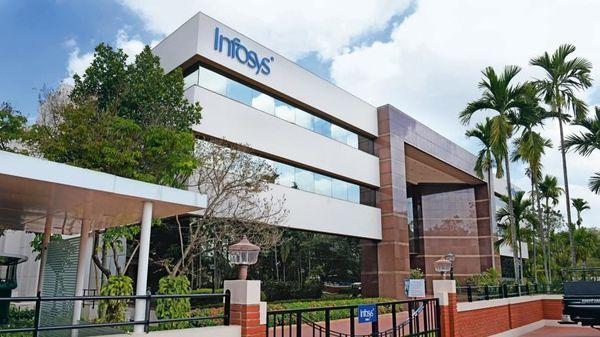 Infosys technologies share zooms on Q1 results - Sakshi