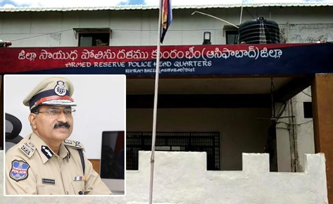 DGP Mahender Reddy Visits Asifabad Over Maoist Activities In District - Sakshi