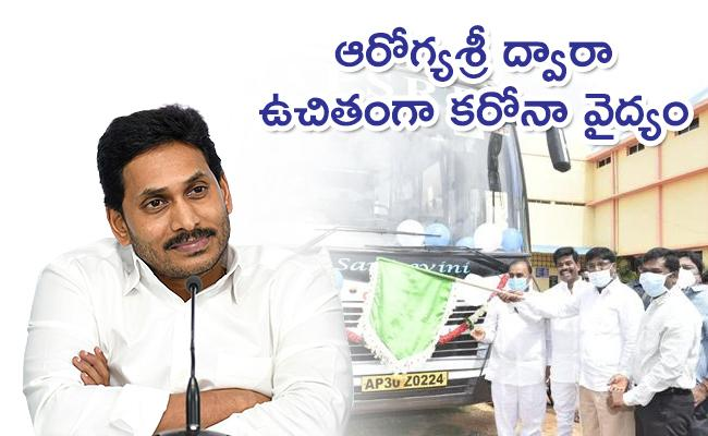 MPs Who Launched Mobile Sanjeevini Buses In Anantapur - Sakshi