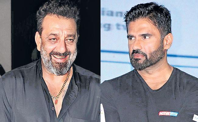 Sanjay Dutt and Suniel Shetty are helping out Mumbai is dabbawalas - Sakshi