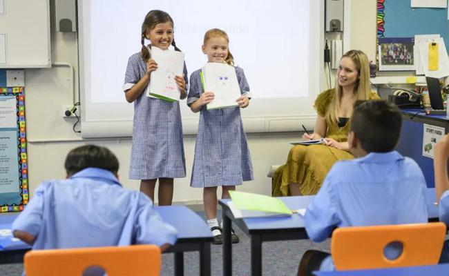 Telugu Language in Australia Schools Text Books - Sakshi