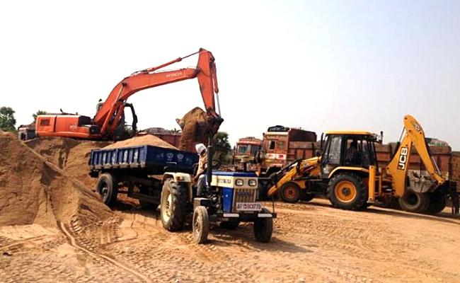 Sand Will Be Available Cheaper In Andhra Pradesh - Sakshi