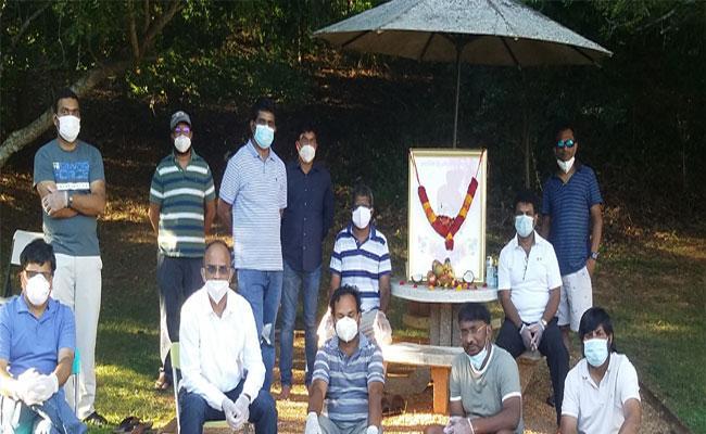 YSR Birthday Celebrations Were Held In Atlanta - Sakshi