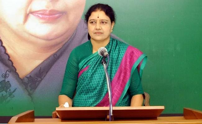 Karthi Chidambaram Said AIADMK Party Would Go Into Hands Of Sasikala - Sakshi