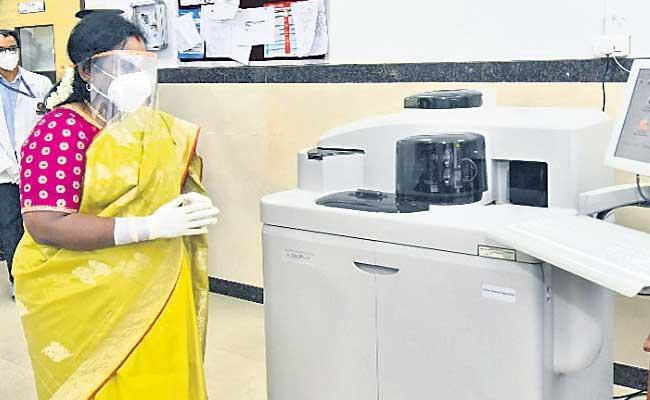 Governor Tamilisai Soundararajan Launched Plasma Bank In ESI - Sakshi