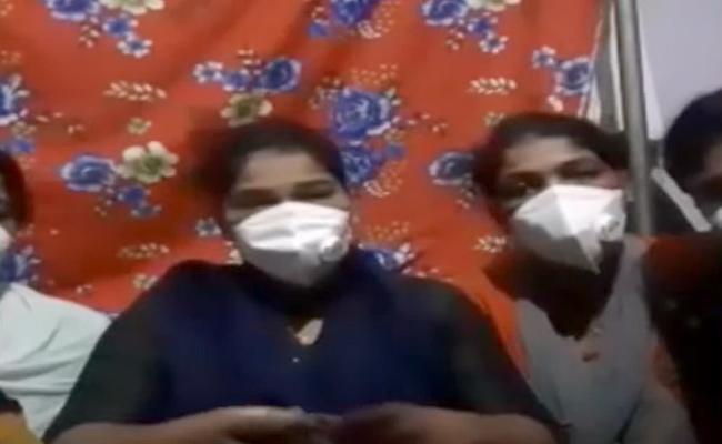 Private Hospital Management Harassment In Tamil Nadu Nurses In Mehdipatnam - Sakshi