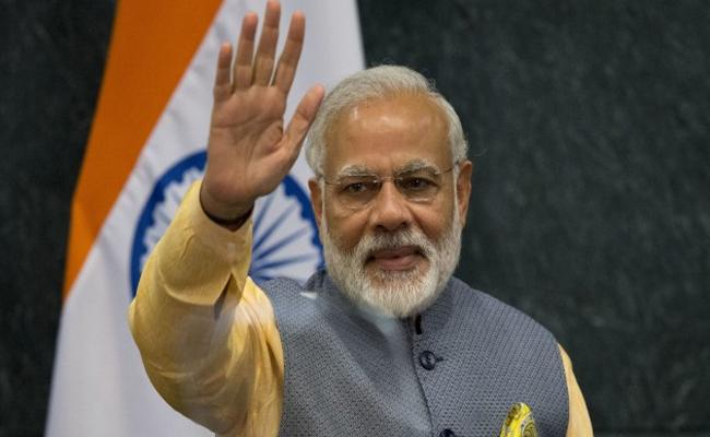 PM Narendra Modi Crosses 60 Million Followers On Twitter Official Account - Sakshi