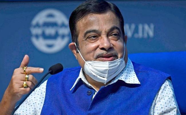 No Chinese Company To Be Allowed To Bid, Nitin Gadkari - Sakshi