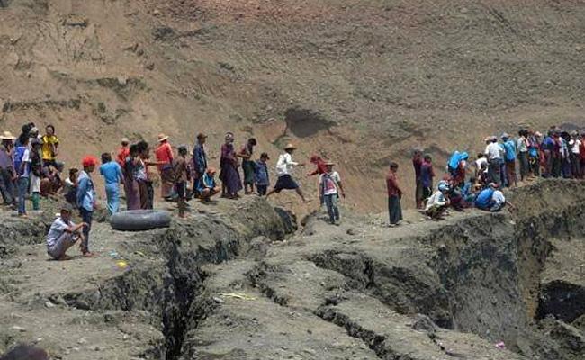 At Least 50 Dead In Landslide At Myanmar Jade Mine - Sakshi