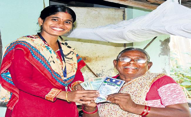 Distribution of pensions to 97 percent of people on 2nd July - Sakshi