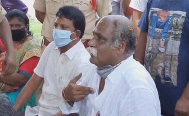TDP MLA Velagapudi Ramakrishna Babu Faced Bitter Experience - Sakshi