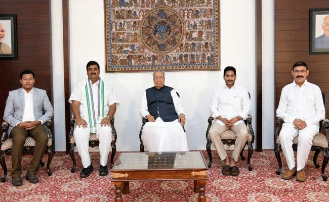 Andhra Pradesh Cabinet Expansion Portfolios Allocated To New Ministers - Sakshi