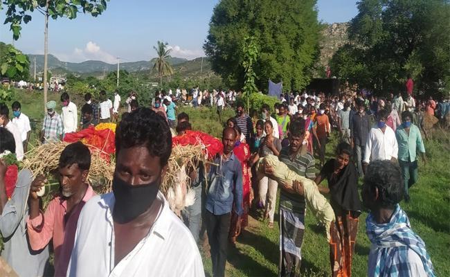 Family Deceased in Chinna Tayyuru Chittoor - Sakshi
