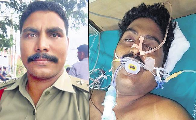 Young Man Deceased with Police Attack about Mask - Sakshi
