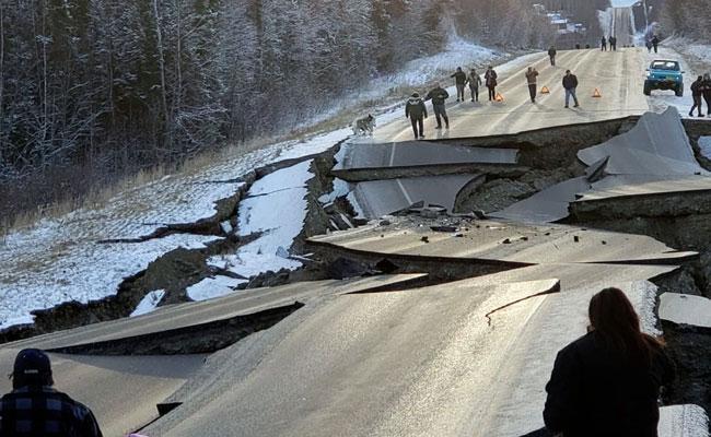Earthquake in Alaska - Sakshi