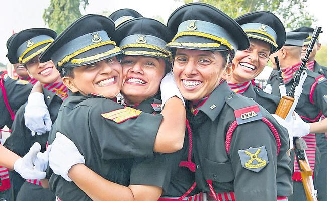 Centre grants permanent commission for women officers in Army - Sakshi