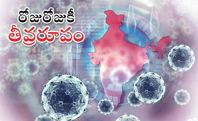 Highest Single Day Spike Of 49310 Covid 19 Cases In India - Sakshi