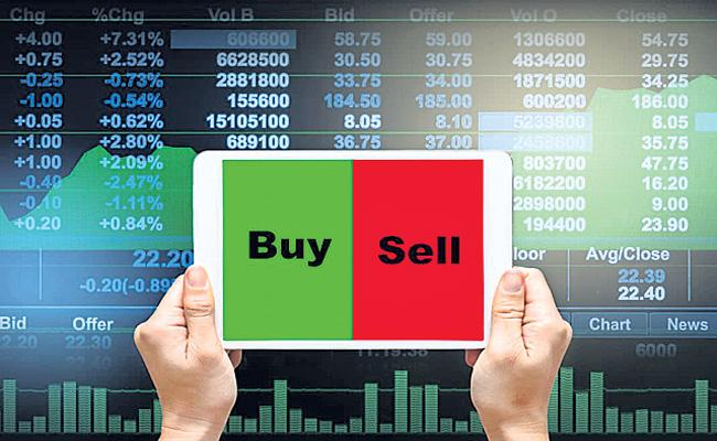 Sensex and Nifty end flat on smart recovery helped by RIL - Sakshi
