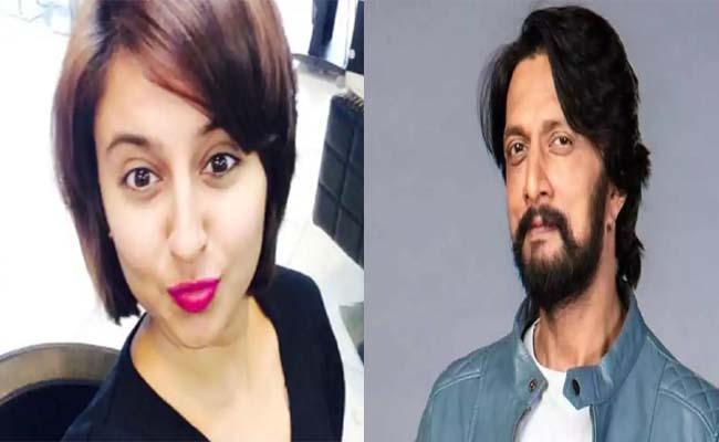 Jayashree Ramaiah Thanks Kiccha Sudeep For Saving Her - Sakshi