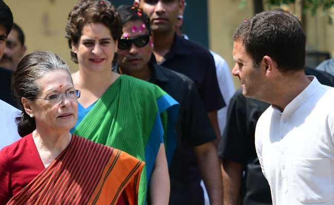 Haryana Government Orders Probe Into Assets Owned By Gandhi Family - Sakshi
