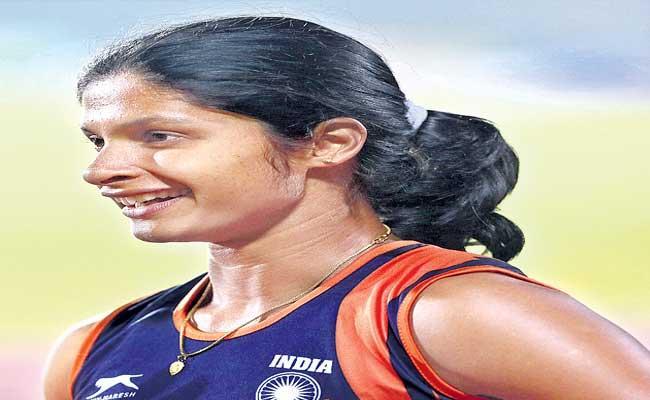 Sprinter Shrabani Speaks About Her Entry in Tokyo Olympics - Sakshi